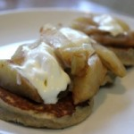 Gluten Free Paleo Pancakes with Sauteed Apples & Pears