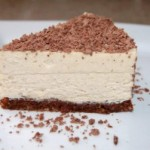 [Recipe] Raw, Vegan, Paleo Vanilla Bean Cheesecake on Brownie Crust