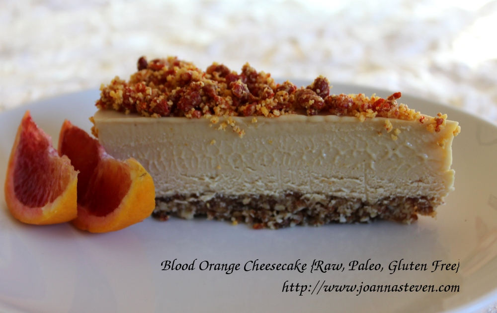 Valentine's Day Blood Orange Cheesecake (aka Ralph Nader Cheesecake ...