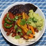 """New Seasons"" Fajitas Bowl – 30 Minutes to a Super Nutritious Dinner"