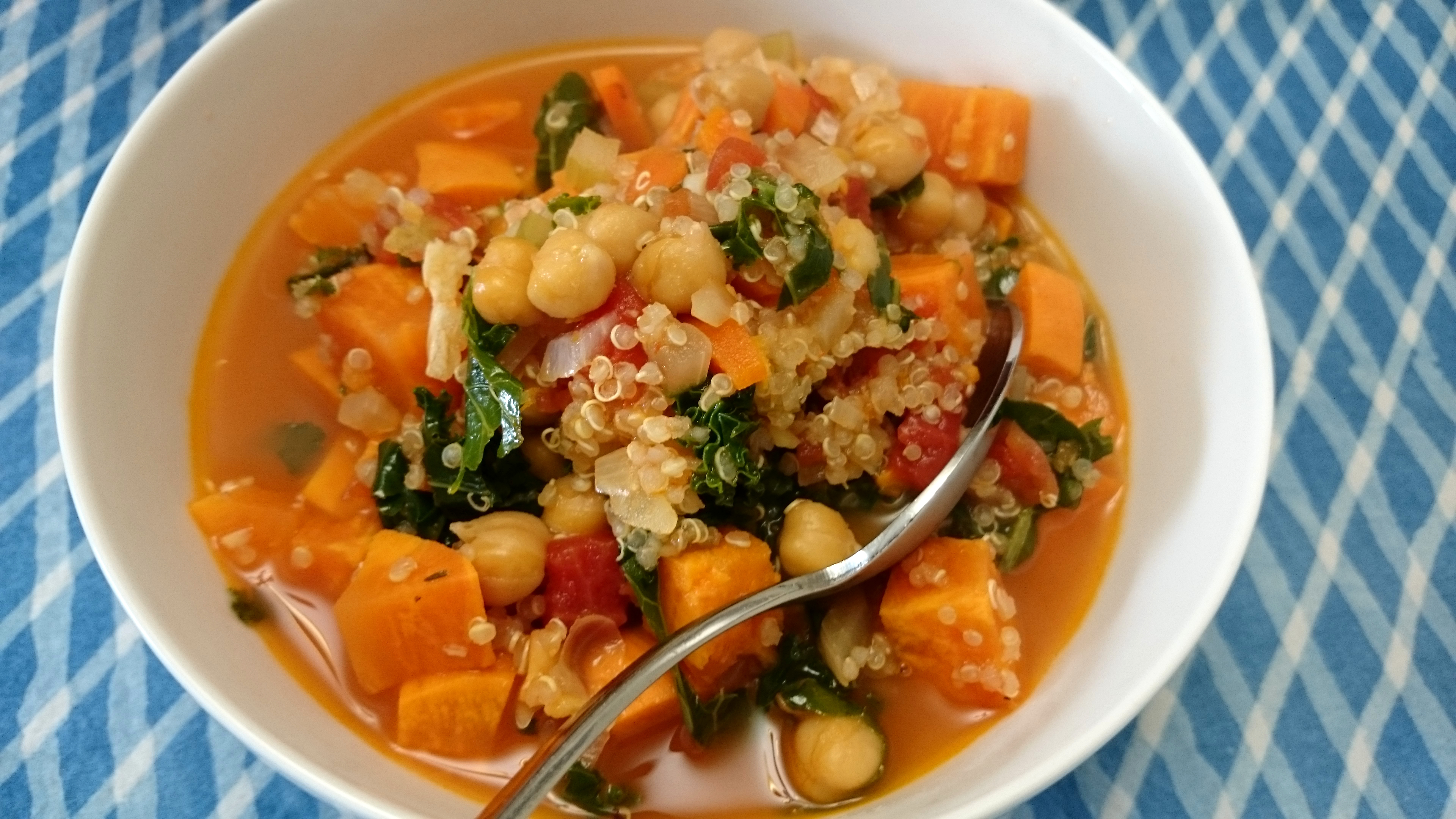 Recipe one of the most ridiculously nutritious baby food ever recipe quinoa sweet potato soup with kale forumfinder Images