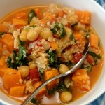 {Recipe} Quinoa & Sweet Potato Soup with Kale