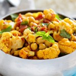 {Recipe} Vegetable & Chickpea Curry in Coconut Milk (Vegan, Gluten Free)