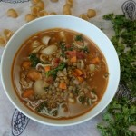 {Recipe} French Lentil & Pasta Soup (Vegan, Gluten Free)