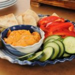 {Recipe} Roasted Red Pepper Hummus (Vegan, Gluten Free)