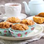 {Recipe} Gluten Free Apple Walnut Muffins {Gluten Free, Dairy Free}