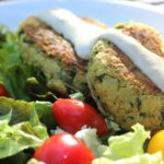{Recipe} Chickpea Kale Patties {Vegetarian, Gluten Free}