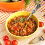 {Recipe} Super Flavorful Slow Cooked Ratatouille with Quinoa {Vegan, Gluten Free, Paleo}