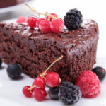 {Recipe} Decadent Flourless Chocolate Cake {Vegetarian, Gluten Free, Paleo}