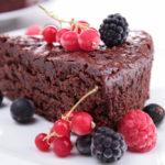 {Recipe} Decadent Flourless Chocolate Cake {Vegetarian, Gluten Free, Paleo}