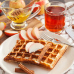 {Recipe} Apple Cinnamon Waffles {Gluten Free, Paleo, Vegetarian}