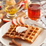 {Recipe} Apple Cinnamon Waffles {Gluten Free, Paleo, Vegetarian}