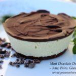 {Recipe} Triple Chocolate Mint Cheesecake {Raw, Vegan, Paleo, Gluten Free}