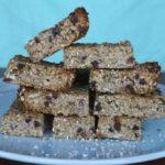 {Recipe} Heather Pace's Grain Free Granola Bars {Gluten Free, Vegan, Paleo}