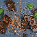 {Recipe} Easy Hazelnut Chocolate Bars {Raw, Vegan, Gluten Free}