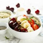 {Recipe} Sweet Cherry Berry Protein Breakfast Bowl {Raw, Vegan, Paleo}